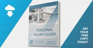 Personal Injury Guide from the texting while driving accident lawyers of Zinda Law Group