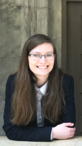 Photo of Claire Perkins, winner of the 2018 Zinda Law Group Scholarship.