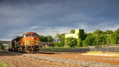 Freight Train Collides with Tractor-Trailer in Texas